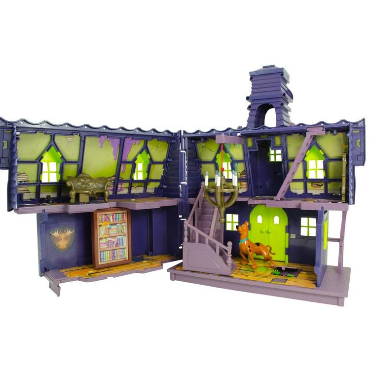 Scooby Doo Crew Mystery Mansion with Goo Turret Playset with Scooby Doo Action Figure
