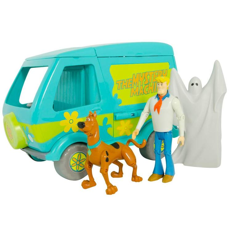 Scooby Doo Mystery Machine and 3 Action Figure Playset