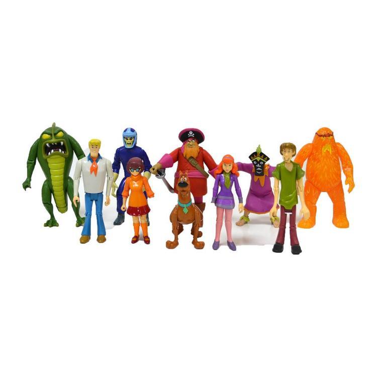 Scooby Doo Monster Set 10 Action Figure Pack