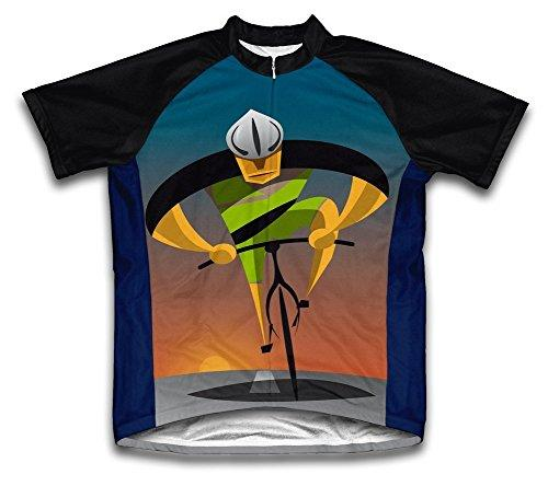 Unstoppable Microfiber Short-Sleeved Cycling Jersey, XL