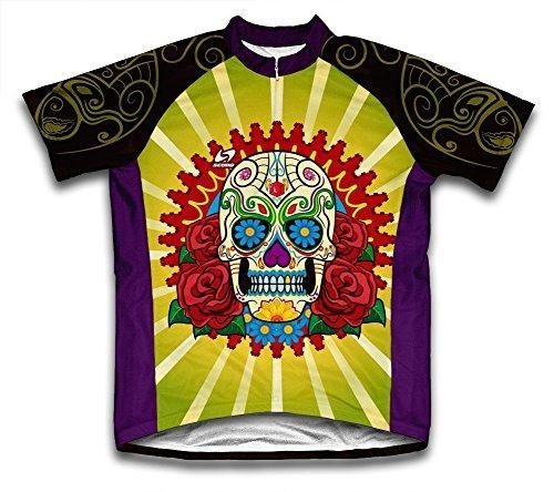 Catrina Microfiber Short-Sleeved Cycling Jersey, M