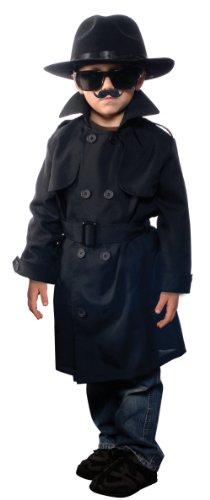 Jr. Secret Agent with Accessories, size Large OSFM ages 9-12
