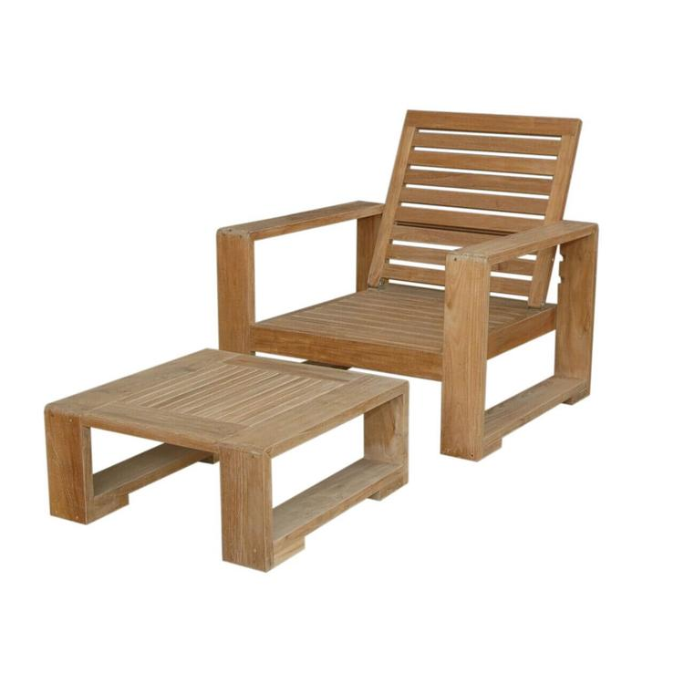 Anderson Teak Capistrano 2-Piece Deep Seating Collection