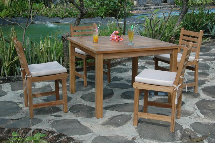 Anderson Teak Montage Windham 5- Pices Dining Set A [Item # SET-206]