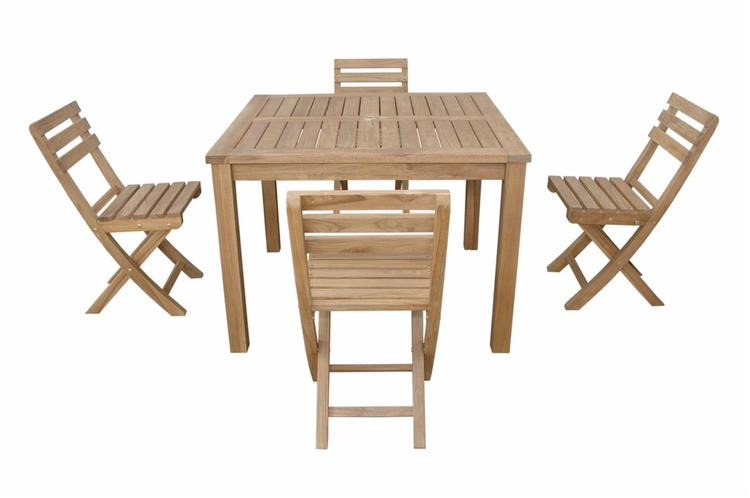 Anderson Teak Montage Alabama 5- Pices Dining Set