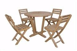 Anderson Teak Descanso Alabama 5-Pieces Bistro Set [Item # SET-227]