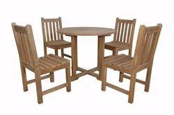 Anderson Teak Montage Braxton 5- Pices Dining Set C [Item # SET-229]
