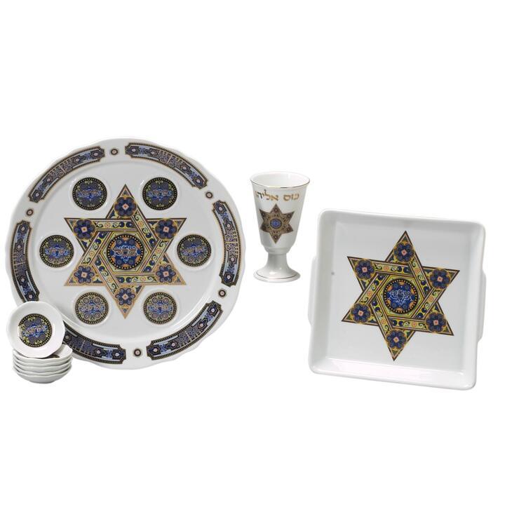 Porcelain Seder Set