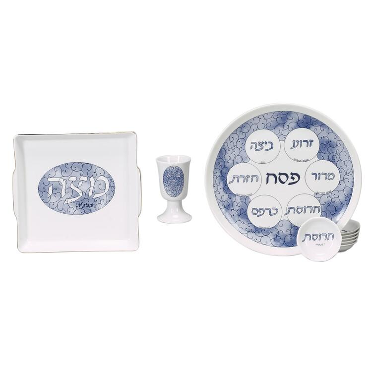 Porcelain Seder Set