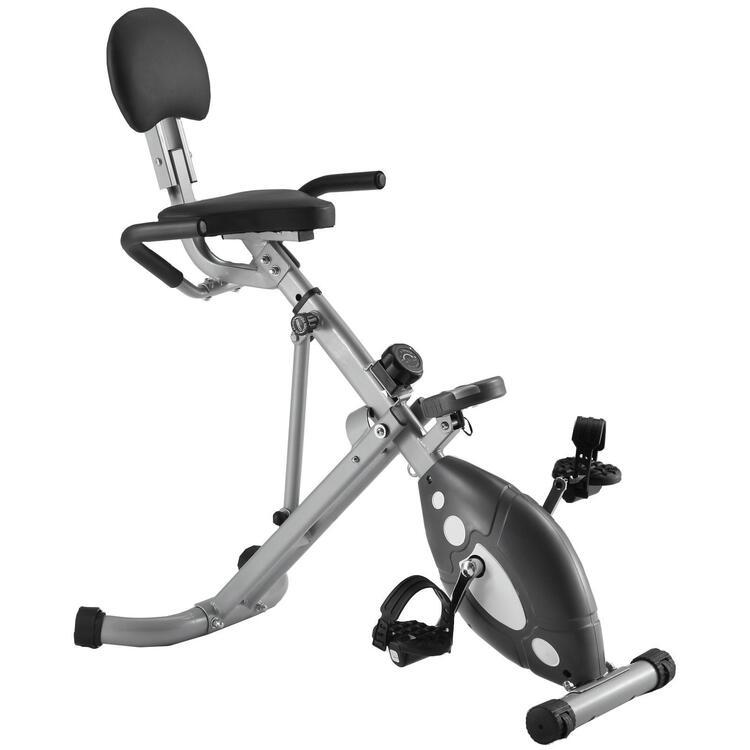 Sunny Fitness Folding Recumbent Bike