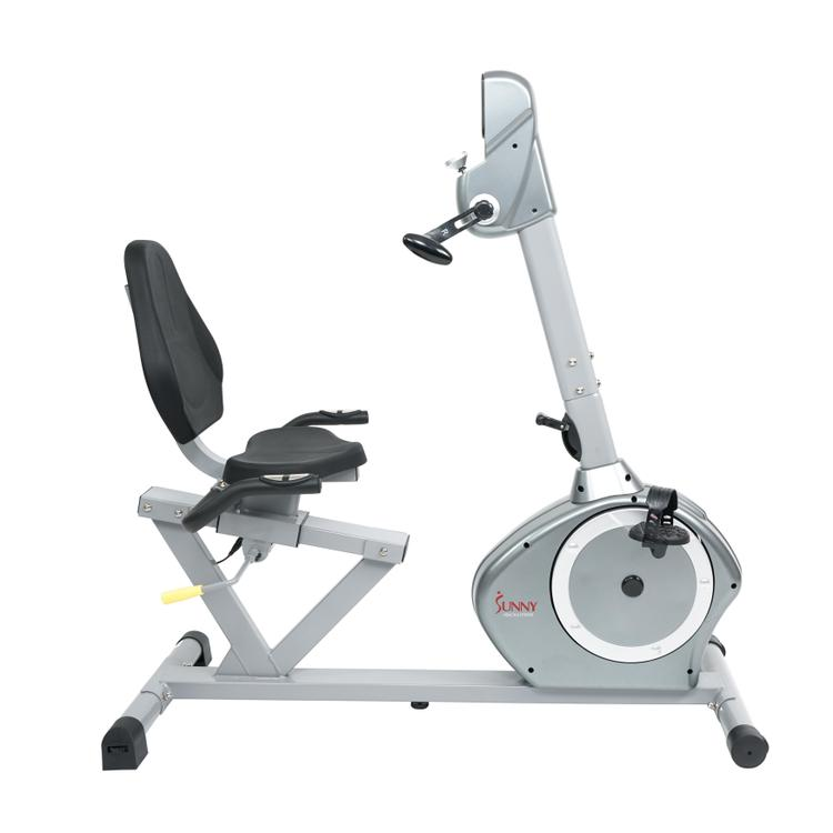 Sunny Health And Fitness Recumbent Bike