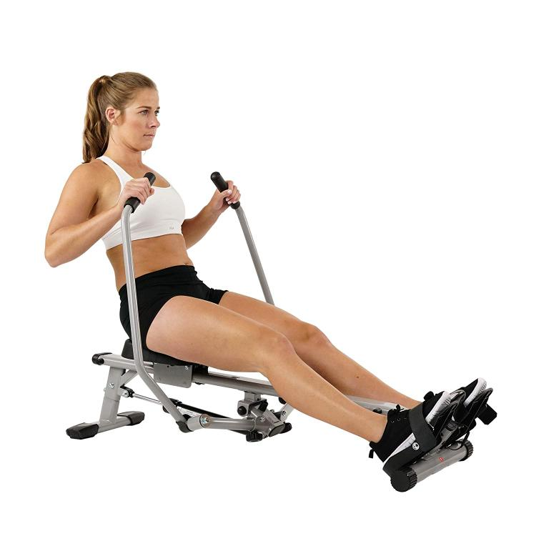 Sunny Health And Fitness Full Motion Rowing Machine