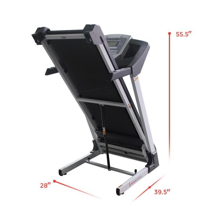 Sunny Health And Fitness Smart Treadmill With Auto Incline