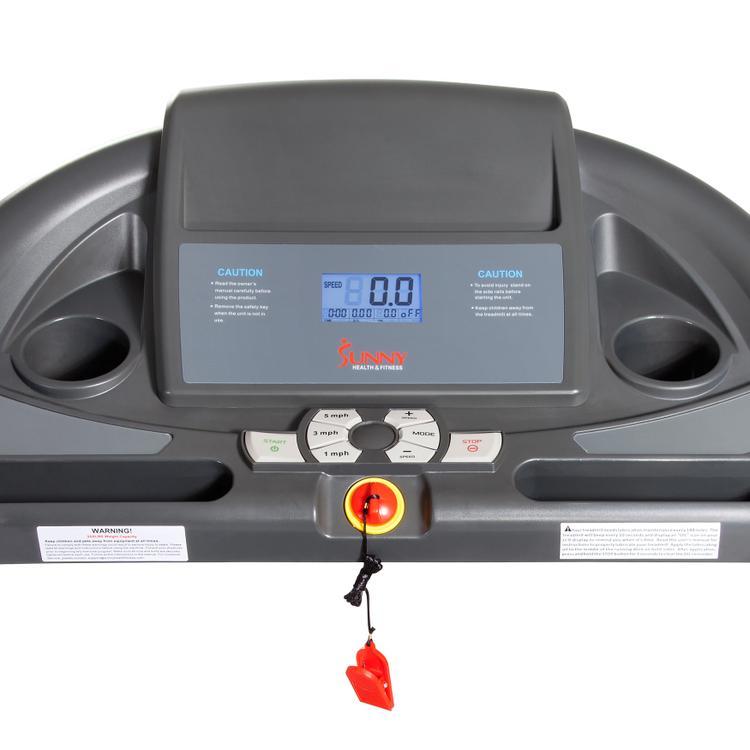 Sunny Health And Fitness Heavy Duty Walking Treadmill