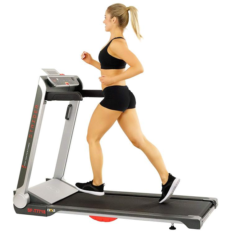 Sunny Health & Fitness Strider Treadmill with 20