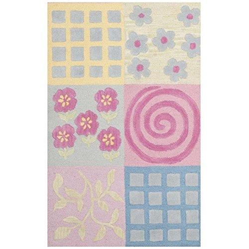 Kids Rug - Safavieh Kids Wool/Viscose Pile -Pink/Multi