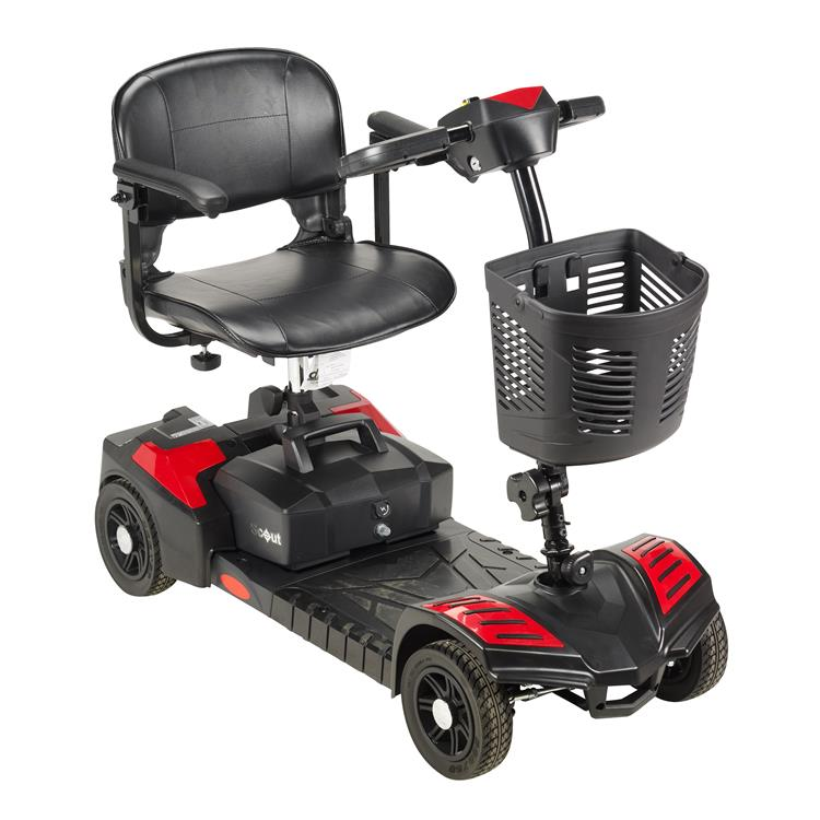 Drive Medical Scout Compact Travel Power Scooter [Item # sfscout4]