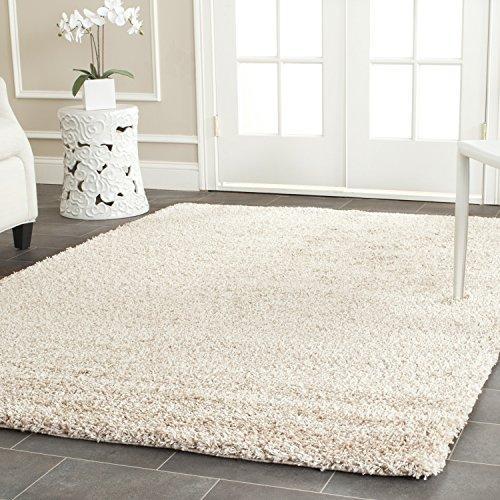 Shag & Flokati Rug - Shag Polypropylene Pile/Weight Is 3700Gr/M2/Pile Height 5Cm/Backing Is Jute/Polyester / Cotton -Beige
