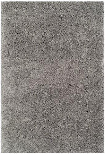 Shag & Flokati Rug - Venice Shag Polyester/Micro Fiber -Silver