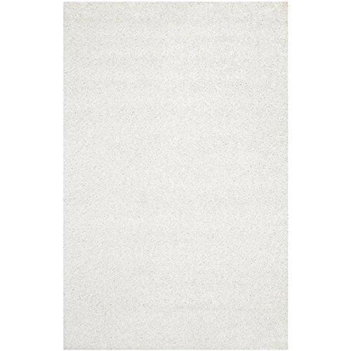 Shag & Flokati Rug - Monterey Shag Polyester Pile -White
