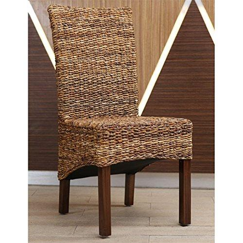 International Caravan Gaby Woven Banana Dining Chair