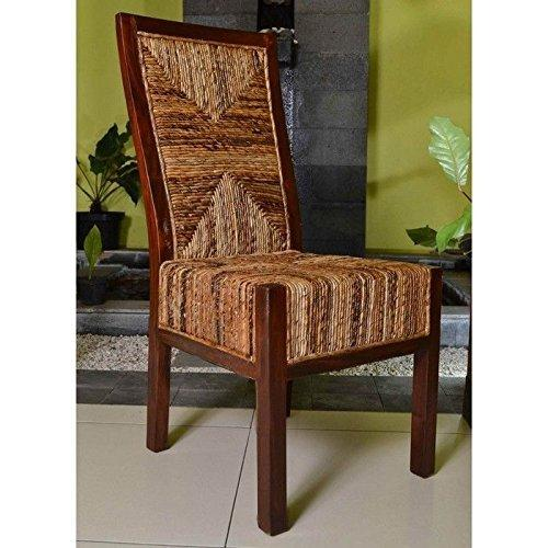 International Caravan Dallas Abaca Weave Dining Chair [Item # SG-3306-1CH]