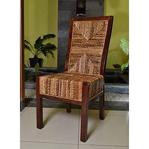 International Caravan Dallas Abaca Weave Dining Chair [Item # SG-3306-2CH]