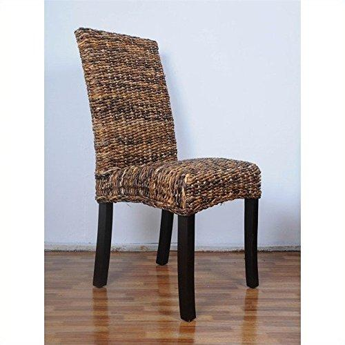 Louisa Abaca Cushioned Seat Dining Chair