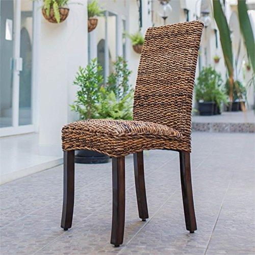 International Caravan Louisa Abaca Dining Chair