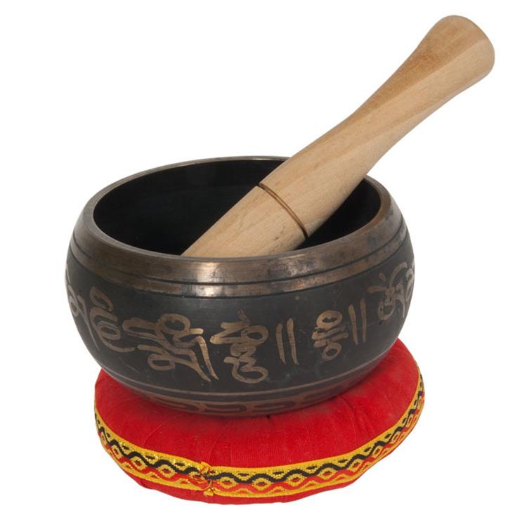 DOBANI Decorated Singing Bowl 4.25
