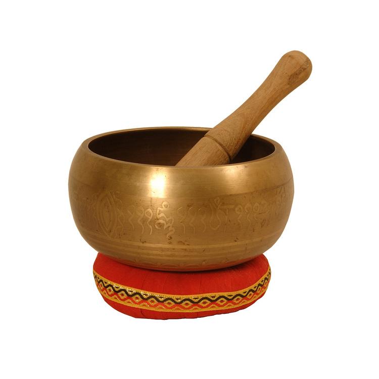 DOBANI Decorated Singing Bowl 6