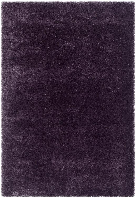 Shag & Flokati Rug - Charlotte Shag Polypropylene/Polyester -Lavander