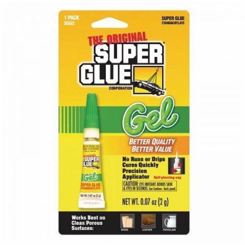 SUPER GLUE SGG2-12 Thick-Gel Super Glue Tube (Single Pack)