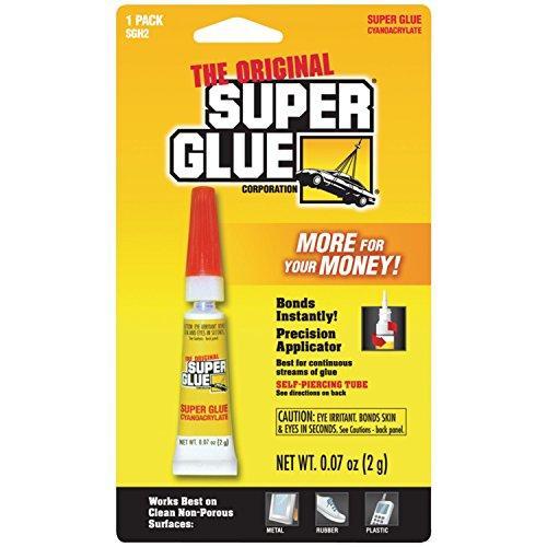 SUPER GLUE SGH2-12 Super Glue Tubes (Single Pack)