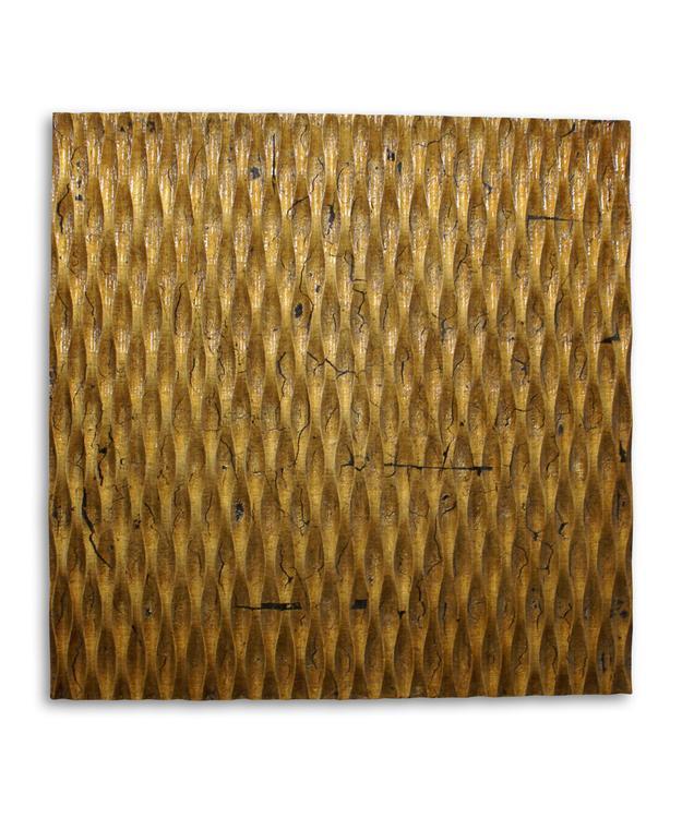 Screen Gems SGWA-83 Metallic Ridge Gold Wall Art