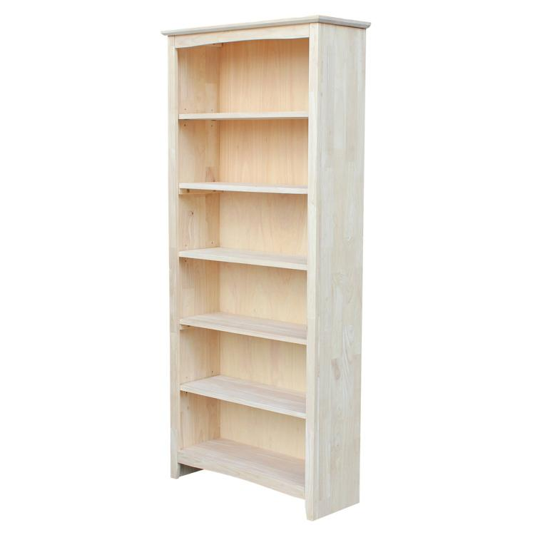 International Concepts Shaker Bookcase