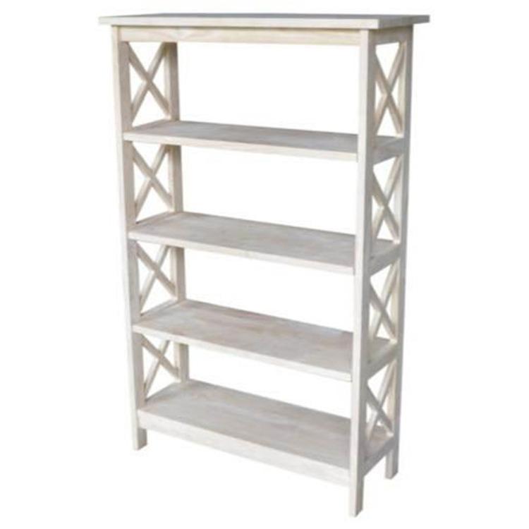International Concepts X-Sided Shelf Unit - 4 Tier