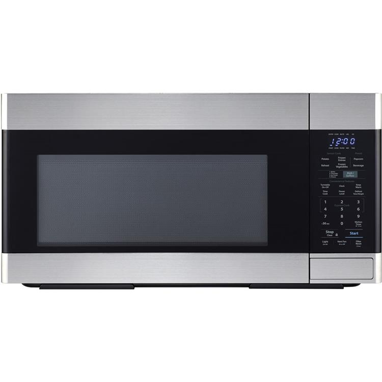 Sharp 1.6 CF 1000W Over-the-Range Microwave Oven in Stainless Steel