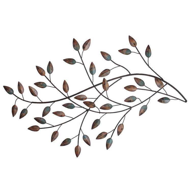 Stratton Home Décor Blowing Leaves Wall Decor