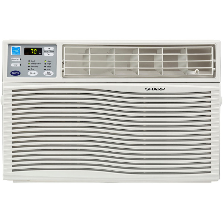 Energy Star 6,000 BTU 110-Volt Window-Mounted Air Conditioner with Rest Easy Remote Control