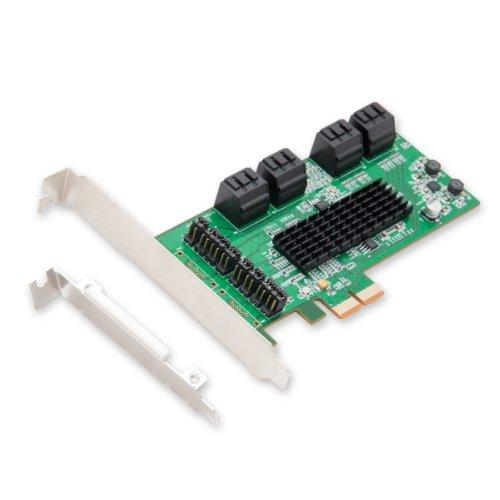 8 Port SATA III PCE-e 2.0 x2 Card