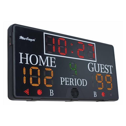 MacGregor 4' x 2' Multisport Indoor Scoreboard
