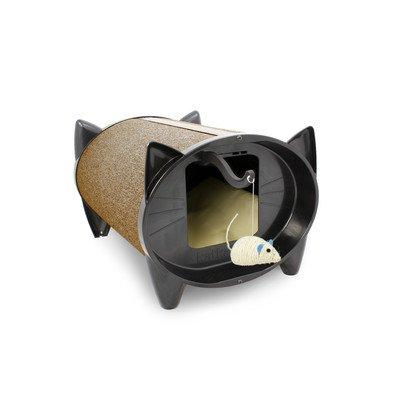 SkratchKabin Cat House in Cocoa Bean [Item # SKZB]