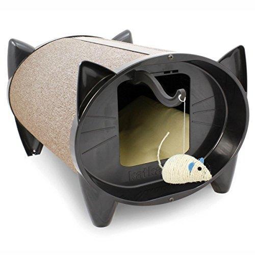 SkratchKabin Cat House in Oatmeal