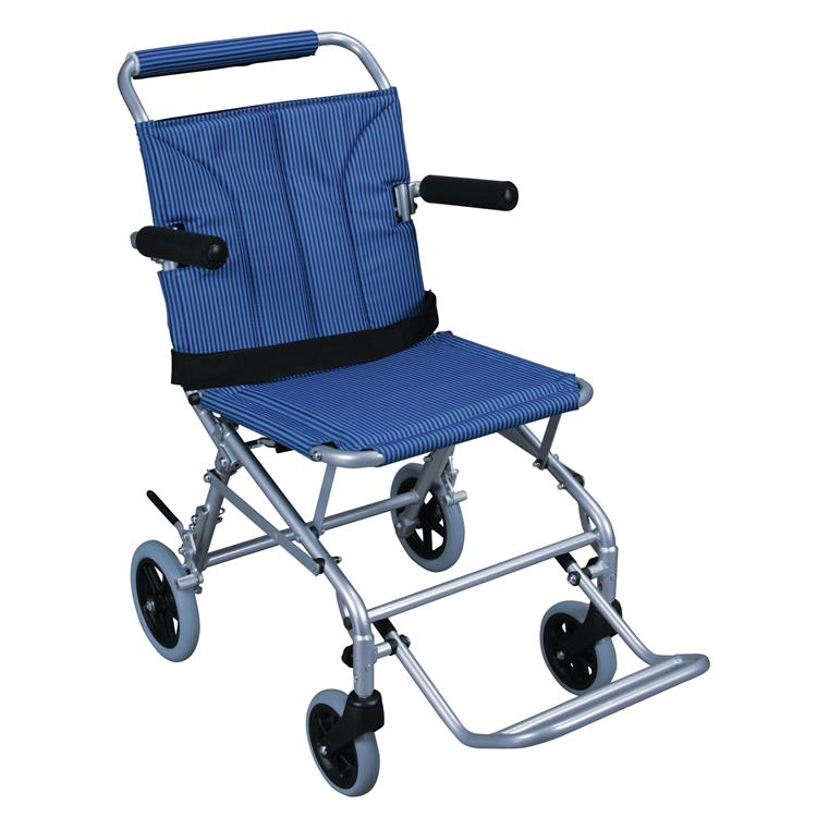 Drive Medical Super Light Folding Transport Wheelchair with Carry Bag [Item # SL18]