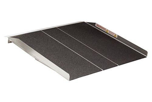 Prairie View 3-ft x 36-in Portable Solid Wheelchair Ramp 800 lb. Weight Capacity, Maximum 6-in Rise