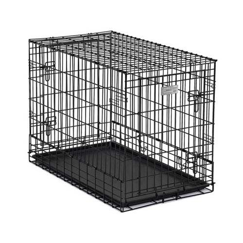 Solutions Series Side-By-Side Double Door Suv Dog Crates
