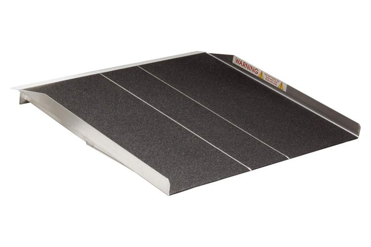 Prairie View 4-ft x 36-in Portable Solid Wheelchair Ramp 800 lb. Weight Capacity, Maximum 8-in Rise