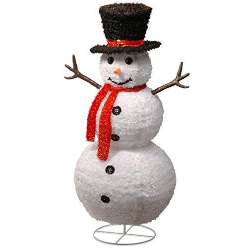 National Tree Pop-Up Snowman