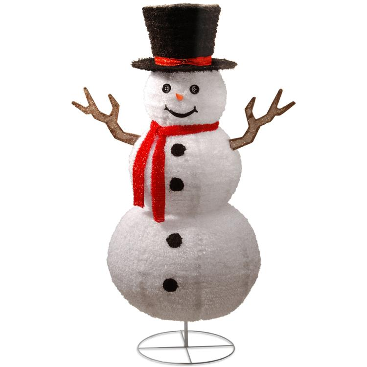 National Tree Pop-Up Snowman